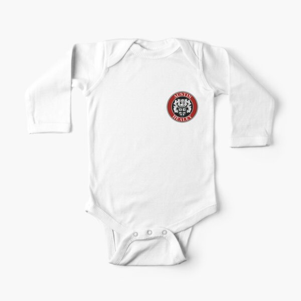 Austin-Healey Shield Logo Long Sleeve Baby One-Piece