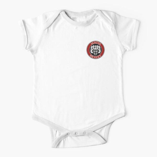 Austin-Healey Shield Logo Short Sleeve Baby One-Piece