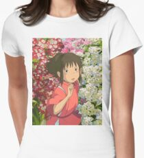 Running through the Flowers - Spirited Away T-Shirt