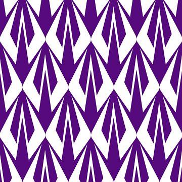 Kimi Raikkonen - Insignia Pattern (violet) by RetroLink