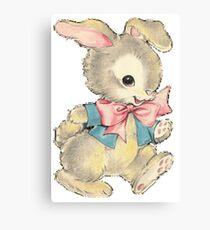 Playful Bunny Canvas Print