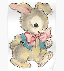 Playful Bunny Poster