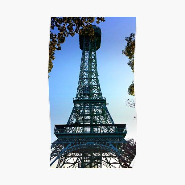 Kings Island Eiffel Tower Poster