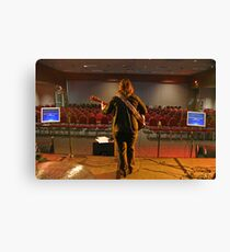 On The Stage Canvas Print