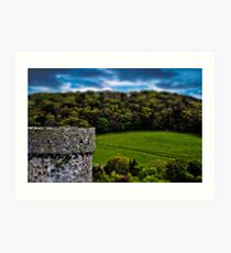 Conway North wales Looking for my toy sheep Art Print