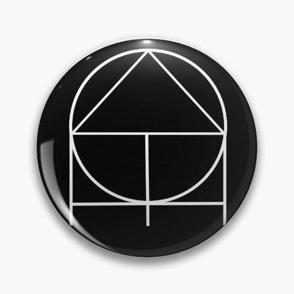 ADHD(nD) Logo- White on Black  Pin