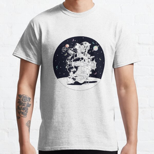 Castle in a Starry Night Classic T-Shirt