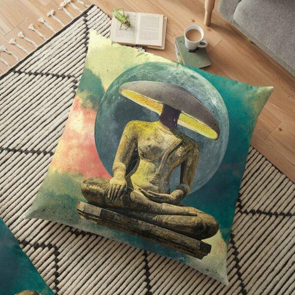 Shroom Moon Buddha Floor Pillow