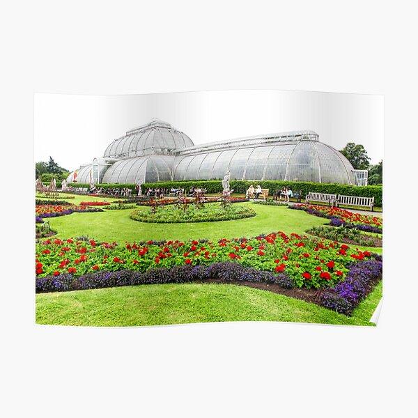 The Palm House at Kew Royal Botanic Gardens London Poster