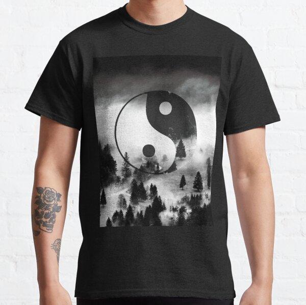 Yin Yang Forest  Classic T-Shirt