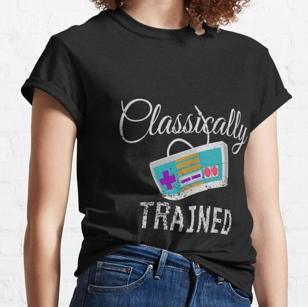 Classically Trained Video Game Tee Classic T-Shirt