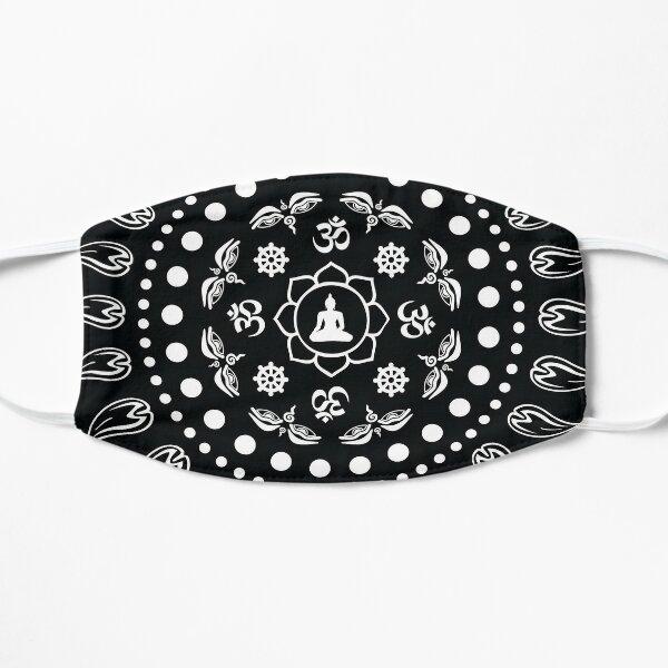 Dharma Symbols Flat Mask