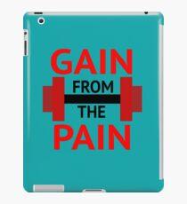 No Pain, No Gain. iPad Case/Skin