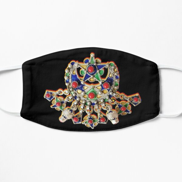 Bijoux kabyle Masque sans plis