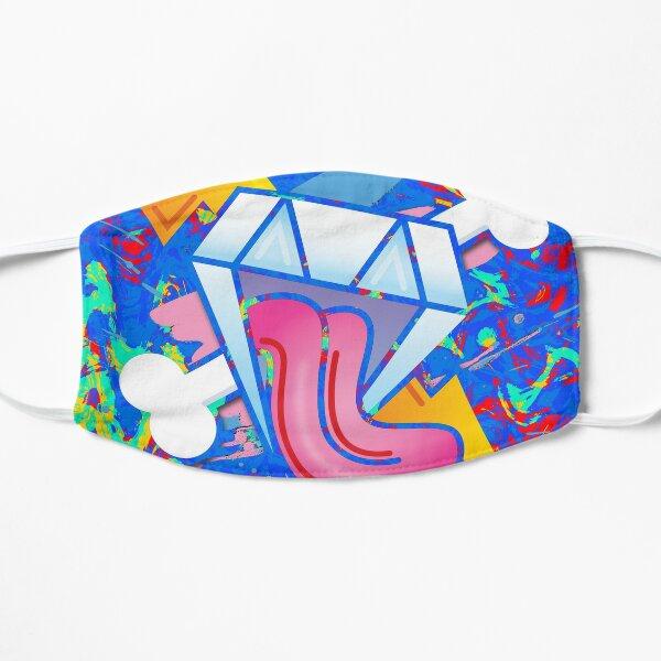 Trippy Diamond Lust  Flat Mask