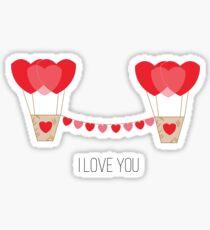 Love fly Sticker