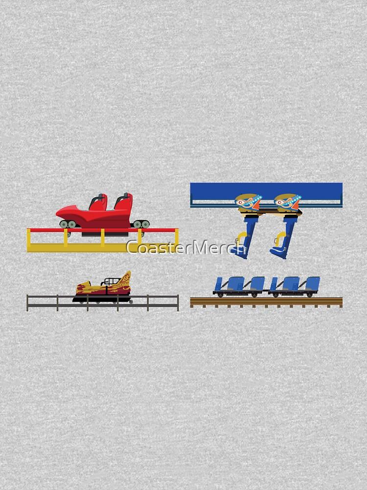 Parc Asterix Coaster Cars Design by CoasterMerch