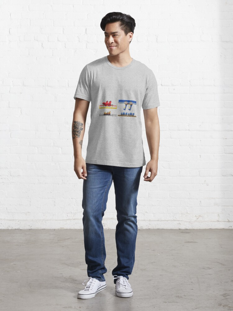 Alternate view of Parc Asterix Coaster Cars Design Essential T-Shirt