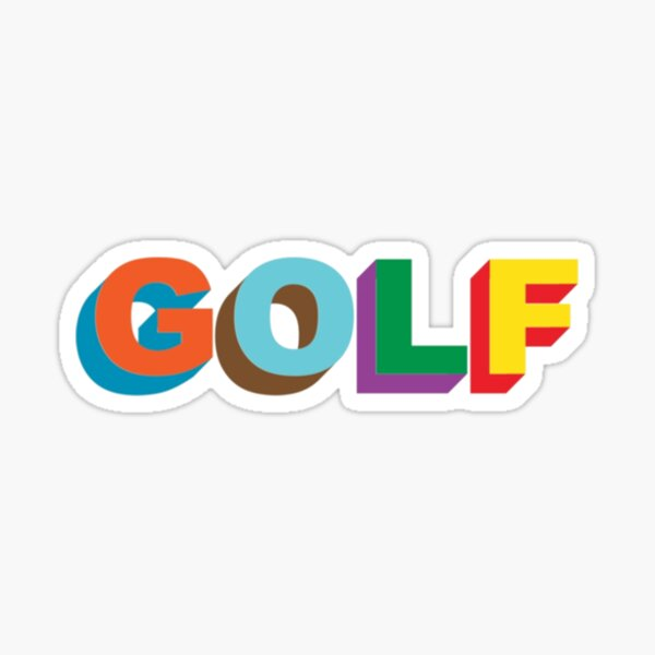 LOGOTIPO DE GOLF WANG Tyler the Creator golfwang Pegatina