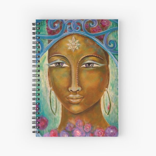 Our Lady of Blooming Clarity Spiral Notebook