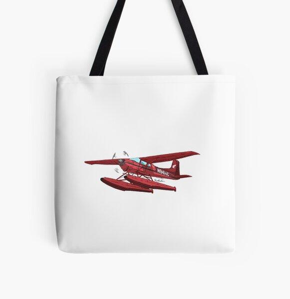 Cessna 180 N9414C  All Over Print Tote Bag