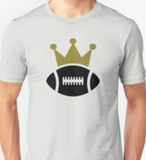 Football crown champion T-Shirt