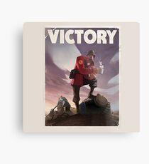 TF2 - Victory Poster/shirt Metal Print