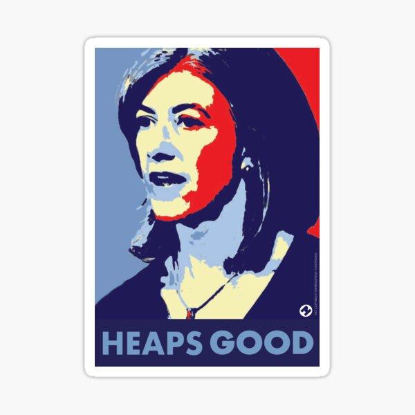 Nicola is Heaps Good Sticker