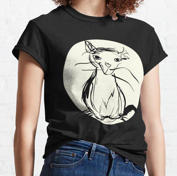 Porkchop Gesture Drawing Classic T-Shirt