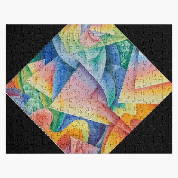 Dancer = Propeller = Sea, 1915, Gino Severini, Italian, Oil on canvas Jigsaw Puzzle