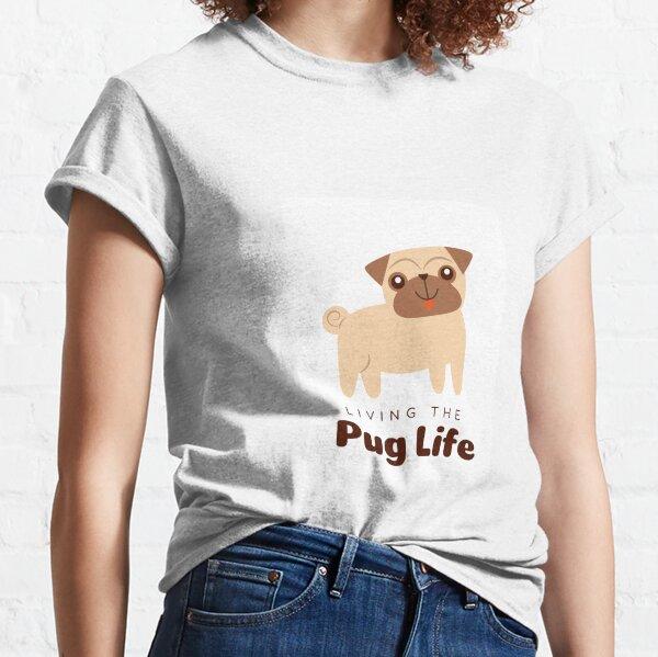 Living Pug Classic T-Shirt