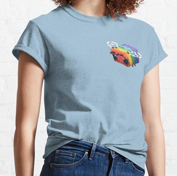 lgbtq+ minecraft bee Classic T-Shirt