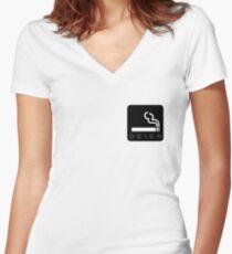 Deign Women's Fitted V-Neck T-Shirt