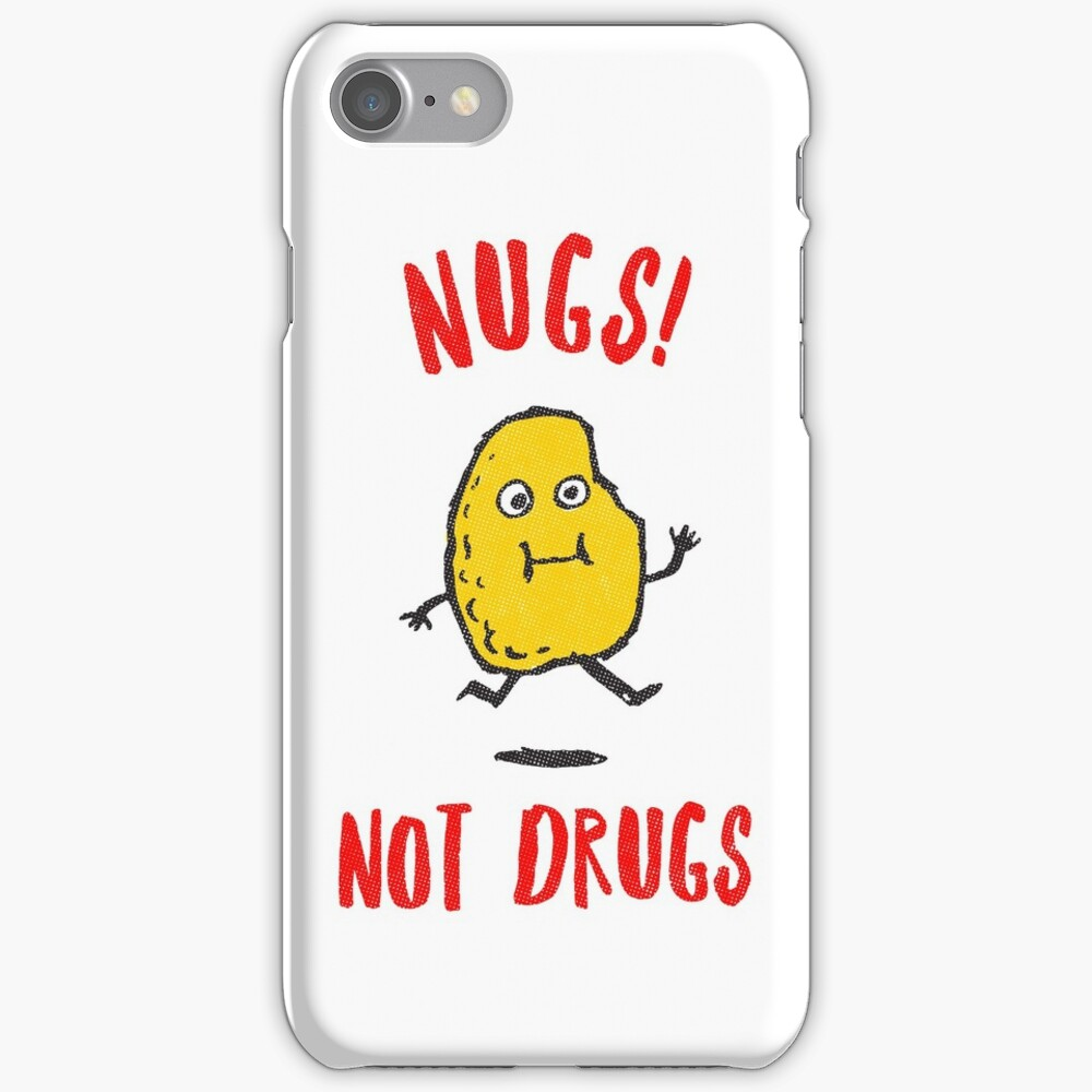 Nugs Not Drugs T-Shirt iPhone Case & Cover