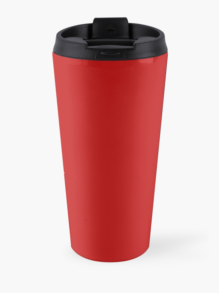Alternate view of Baby it's Clean Inside Funny Christmas Cleaning Travel Mug