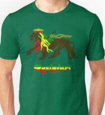 Reggae Rasta, Rastafari Lion T-Shirt