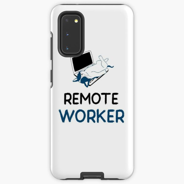 remote worker Samsung Galaxy Tough Case