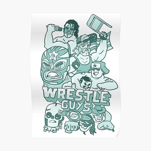 Wrestle Guys Poster