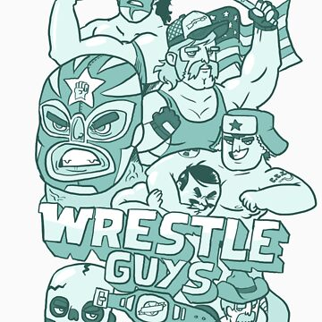 Wrestle Guys by fightstacy