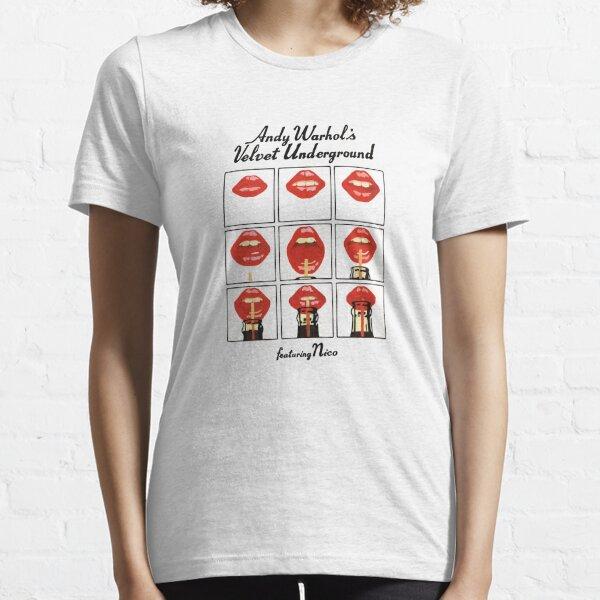 MEILLEUR VENDEUR - Marchandise souterraine Andy Warhol Velvet T-shirt essentiel