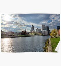 Downtown Providence, RI Poster