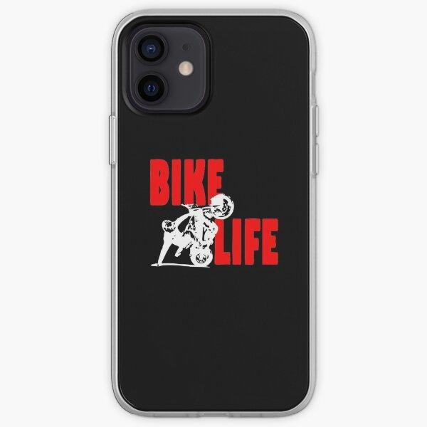 MEILLEUR VENDEUR - Marchandise Bike Life Coque souple iPhone