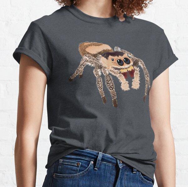 Pet Regal Jumping Spider Phiddipus Regius Classic T-Shirt