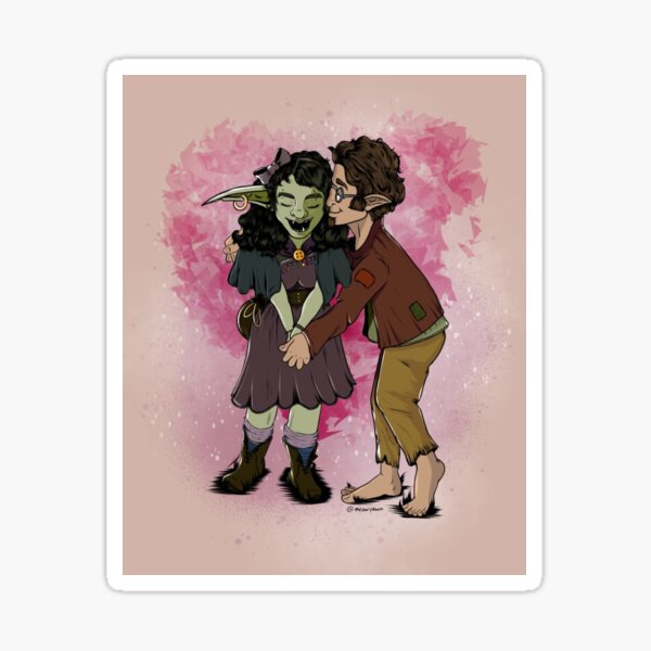 Nott and Yeza Sticker