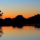 Arizona sunset by Christine Ford