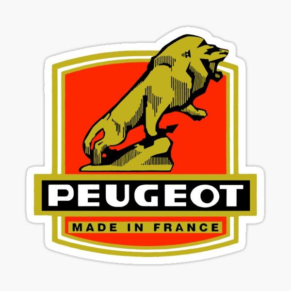 Peugeot Pegatina
