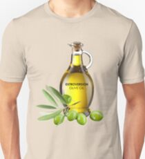 Extroversion Olive Oil T-Shirt