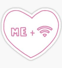 me and wifi Sticker