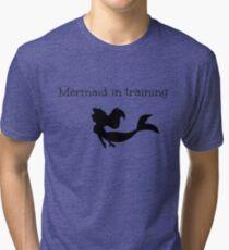 Mermaid in Training Tri-blend T-Shirt