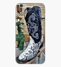 Snakeskin Boots iPhone Case